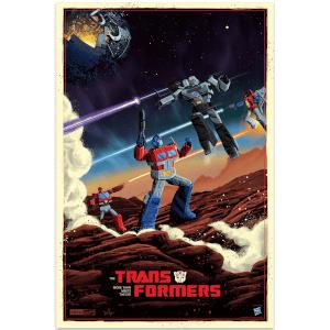 Transformers Giclee Print By Derek Payne - 16 x 24 inch