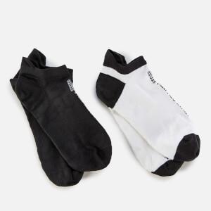 adidas by Stella McCartney Women's Hidden Socks - White/Black