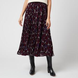 MICHAEL MICHAEL KORS Women's Zinnia Paisley Pleated Skirt - Multi
