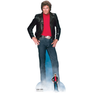 Knight Rider Michael Knight (David Hasselhoff) Oversized Cardboard Cut Out