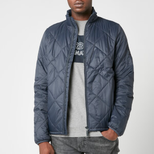 Barbour International Men's Kingman Quilt Jacket - Navy