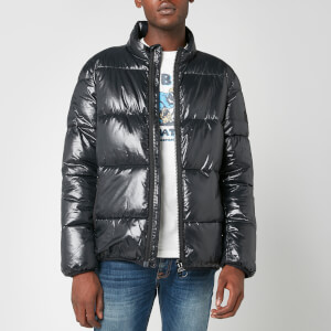 Barbour International Men's Act Quilt Jacket - Black