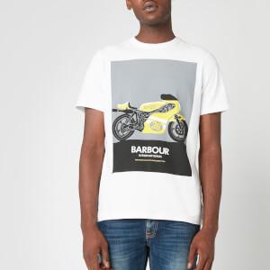 Barbour International Men's Posterise T-Shirt - White