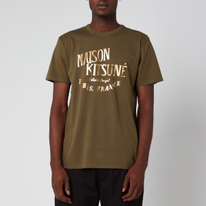 Maison Kitsuné Men's Palais Royal T-Shirt - Khaki