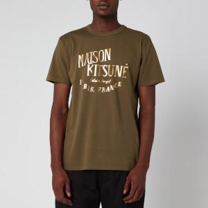 Maison Kitsuné Men's Palais Royal T-Shirt - Khaki