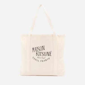 Maison Kitsuné Men's Palais Royal Shopping Bag - Ecru
