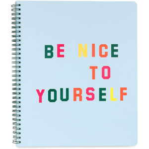 Ban.do Rough Draft Large Notebook - Be Nice To Yourself