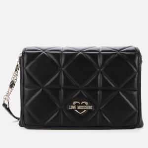 Love Moschino Women's New Quilt Shoulder Bag - Black