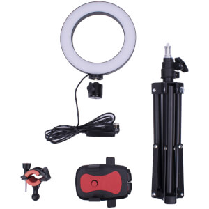 Fizz Creations Selfie Ring Light & Tripod