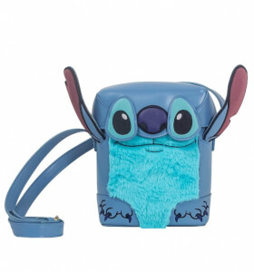 Danielle Nicole Disney Lilo and Stitch Stitch Face Box Cross Body Bag