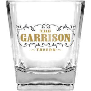 Peaky Blinders Garrison Drinking Glass and Stones Set
