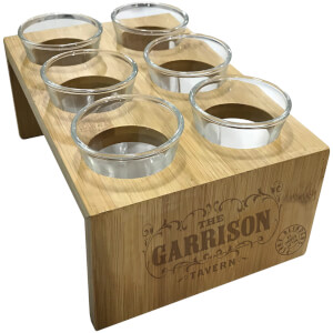 Peaky Blinders Garrison Wooden Shot Glass Set