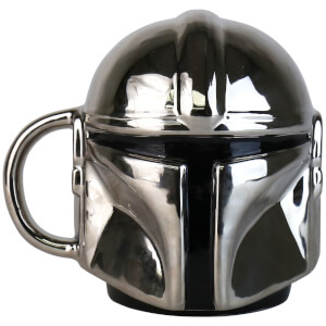 Star Wars Mandalorian Electroplated Shaped Mug