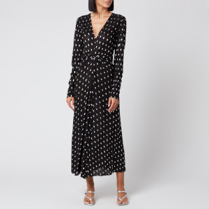 ROTATE Birger Christensen Women's Sierra Dress - Black Comb