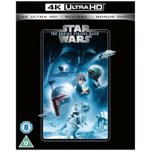Star Wars - Episodio V: El Imperio Contraataca - 4K Ultra HD (Incluye Blu-ray 2D)
