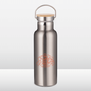 Friends I'd Rather Be Watching Colour Portable Insulated Water Bottle - Steel