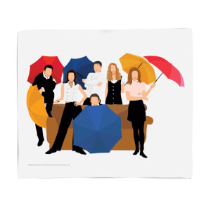 Friends The Gang Fleece Blanket