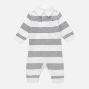 Polo Ralph Lauren Boys' Stripe Sleep Suit - Grey/White