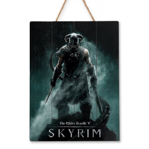 Doctor Collector Skyrim Dragonborn Wood Art - Limited Edition