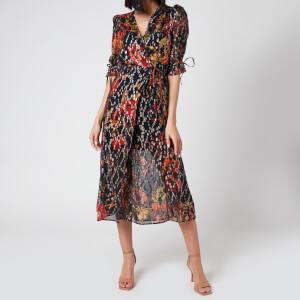 Hope & Ivy Women's The Faye Midi Dress - Multi