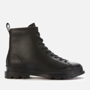 Camper Men's Medium Lace Boots - Black