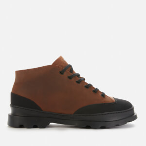 Camper Men's Brutus Ankle Boots - Medium Brown
