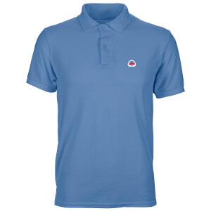 Jaws Shark Teeth Unisex Polo - Cornflower