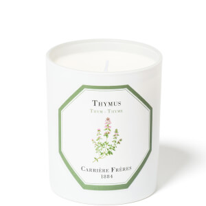 Carrière Frères Scented Candle Thyme - Thymus - 185 g