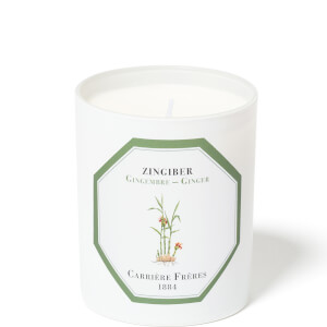 Carrière Frères Scented Candle Ginger - Zingiber - 185 g