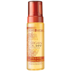 Crème of Nature Argan Oil Style & Shine Foaming Mousse 207ml
