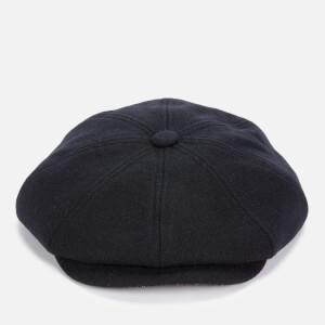 Ted Baker Men's Sugcube Wool Felt Baker Boy Cap - Navy