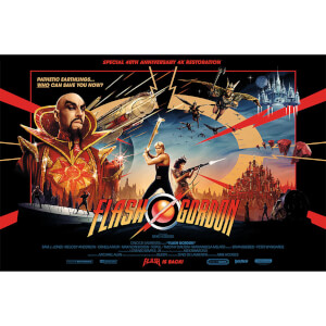 Flash Gordon Limited Edition Lithograph by Matt Ferguson
