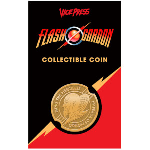 Flash Gordon Limited Edition Antique Collector Coin by Florey