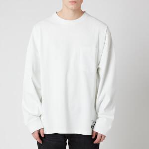 Martine Rose Men's Warung Oversized Long Sleeve T-Shirt - White