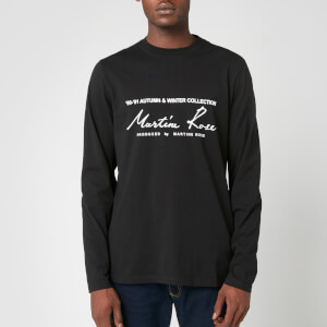 Martine Rose Men's Classic Long Sleeve T-Shirt - Black