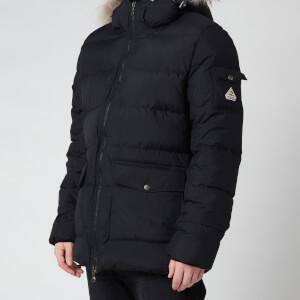 Pyrenex Men's Authentic Matte Fur Collar Jacket - Black