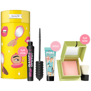 benefit Life is a Pretty Party Blush, Mascara and Primer Gift Set (Worth £61.50)