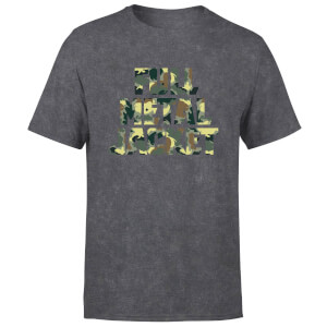 Full Metal Jacket Camo Title Unisex T-Shirt - Black Acid Wash