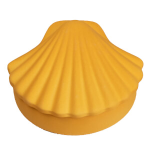 Los Objetos Decorativos Seashell Box - Honey