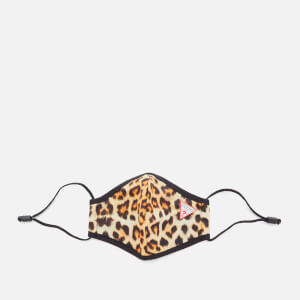 Guess Women's Animal Print Facemask - Leopard