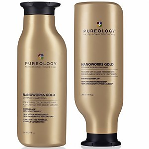 Pureology Nanoworks Gold Shampoo and Conditioner Duo 2 x 266ml