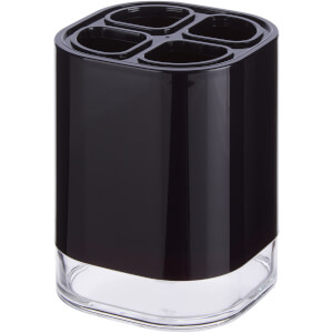 Ando Toothbrush Holder - Black Acrylic