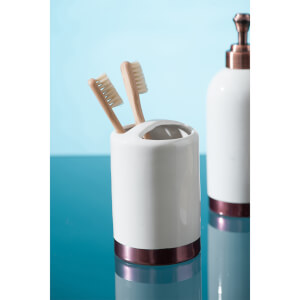 Delta Toothbrush Holder - Stoneware