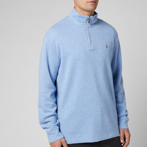 Polo Ralph Lauren Men's Estate Rib Half Zip Pullover - Jamaica Heather