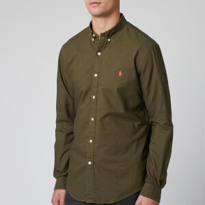 Polo Ralph Lauren Men's Oxford Sport Shirt - Defender Green
