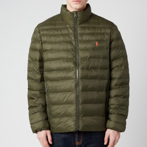 Polo Ralph Lauren Men's Recycled Nylon Terra Jacket - Dark Loden