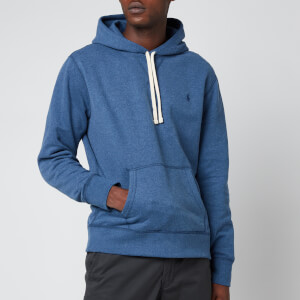 Polo Ralph Lauren Men's Fleece Hoodie - Derby Blue Heather