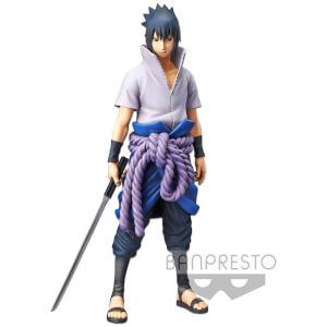 Banpresto Naruto Shippuden Grandista Nero Uchiha Sasuke Figure