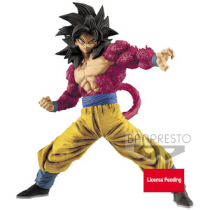 Banpresto Dragon Ball GT Full Scratch The Super Saiyan Son Goku Figure