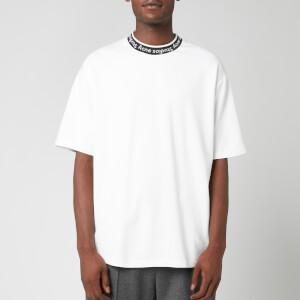 Acne Studios Men's Logo Jacquard T-Shirt - Optic White